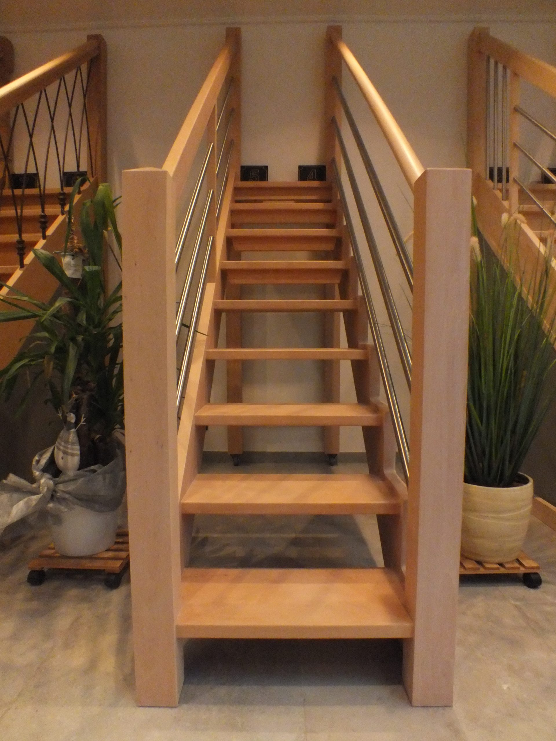 Huile Pour Escalier Hetre showroom | menuiserie alain charlier & fils